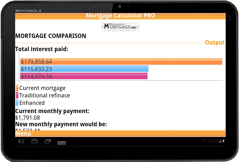 Write a loan calculator pro