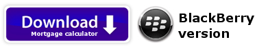 Mortgage Refinancing PRO for Blackberry